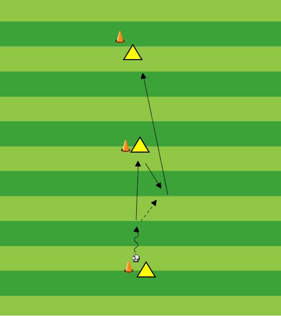 Training e pupillen voetbal warming up
