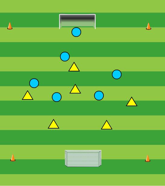 Voetbal 5 tegen 5